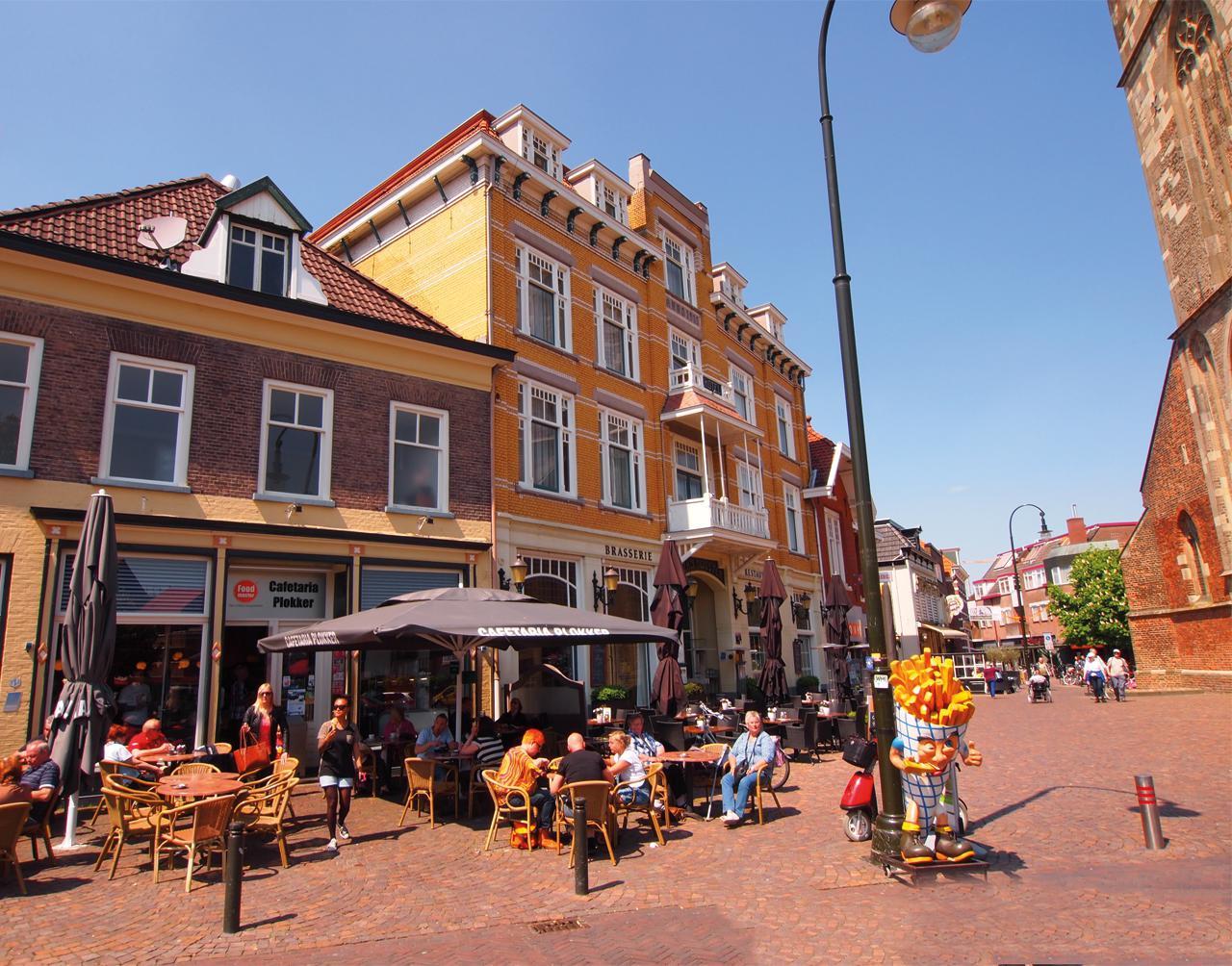 toeristen in Winterswijk